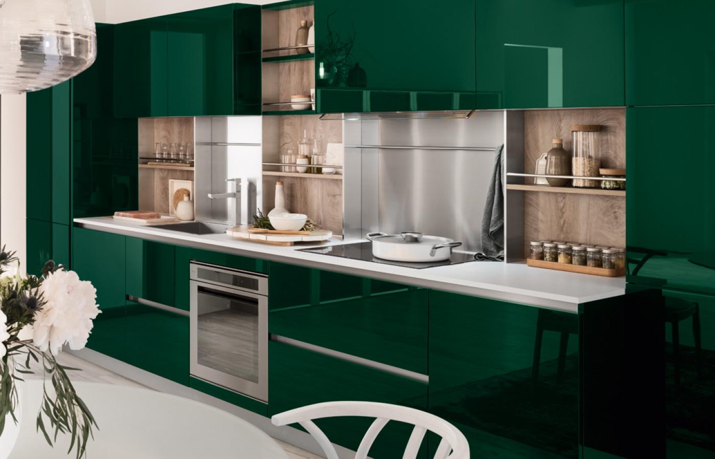 Veneta Cucine Modello Reflex.Cucine Bergamin Arredamenti