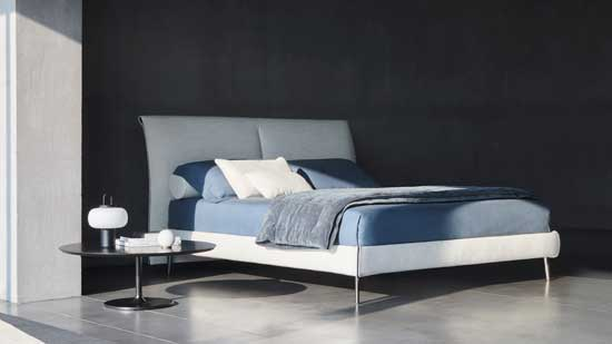 Letto matrimoniale made in Italy Twils